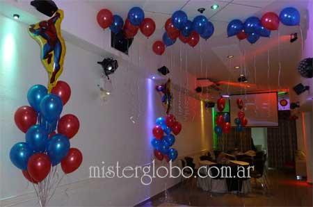Mister globo decoraciones con globos para eventos sociales for Decoracion de globos para hombres